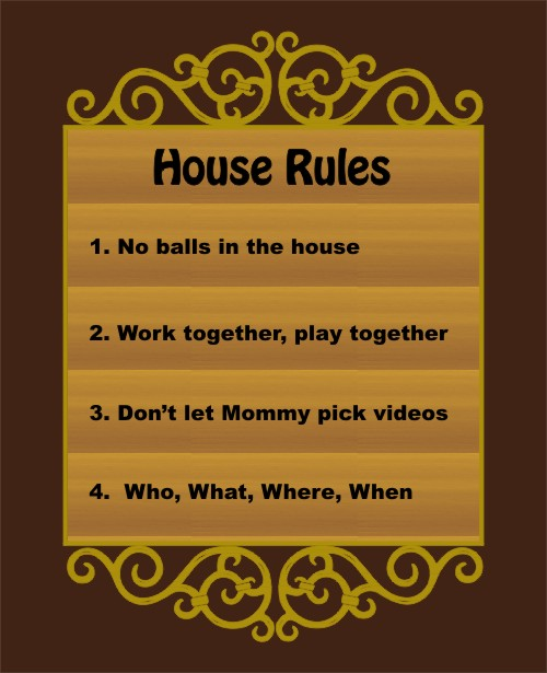 House Rules | Life Cherries