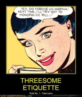 Threesome Etiquette